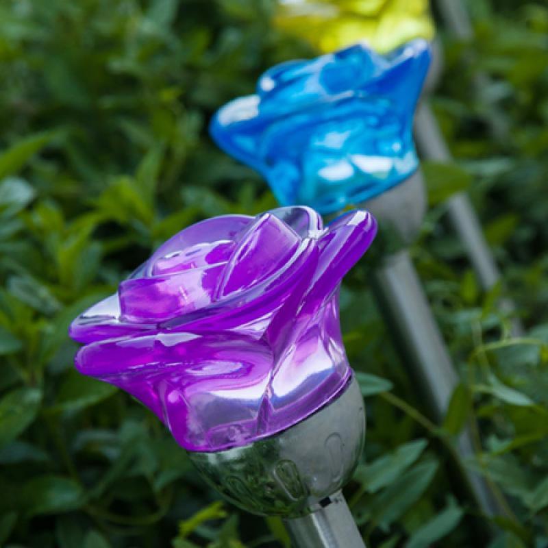Ideale come illuminazione da giardino.